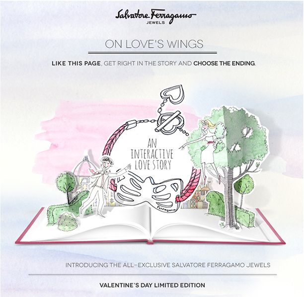 Salvatore Ferragamo: On Love's Wings