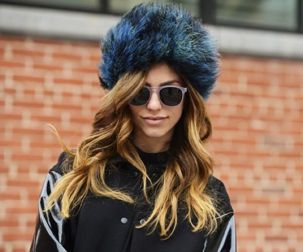 NYFW Street Style: Fuzzy Hats