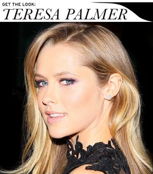 Teresa Palmer's Beauty Look