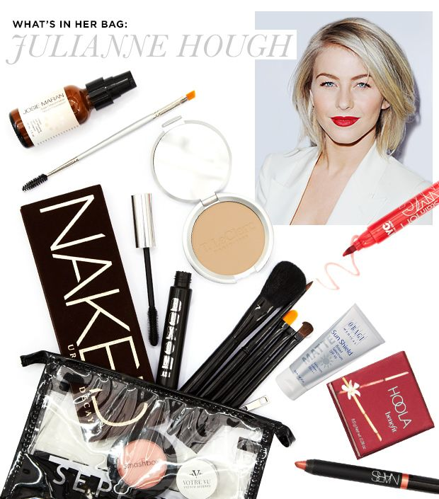 The Powder, Lipstick, & Mascara Julianne Hough Swears By