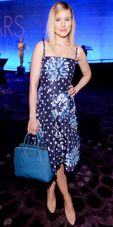 Kristen Bell's Blue Streak