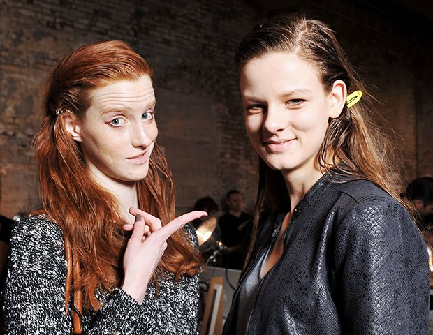 The Surprisingly Low Maintenance Hair Trend Seen All Over Fashion Week