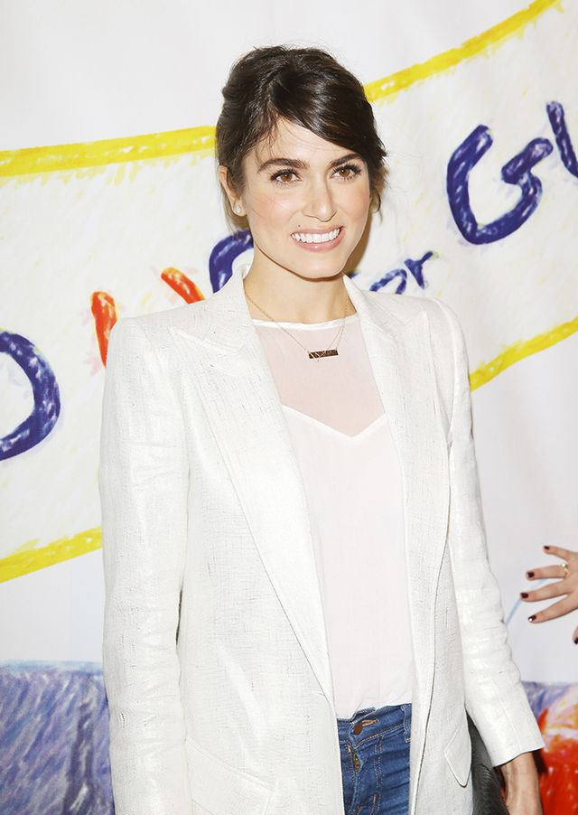 Nikki Reed   A piece like Reed's Lola James Jewelry Alter Ego Necklace ($125) works with any neckline, whether your neckline is a conservative crewneck like the actress'or a...