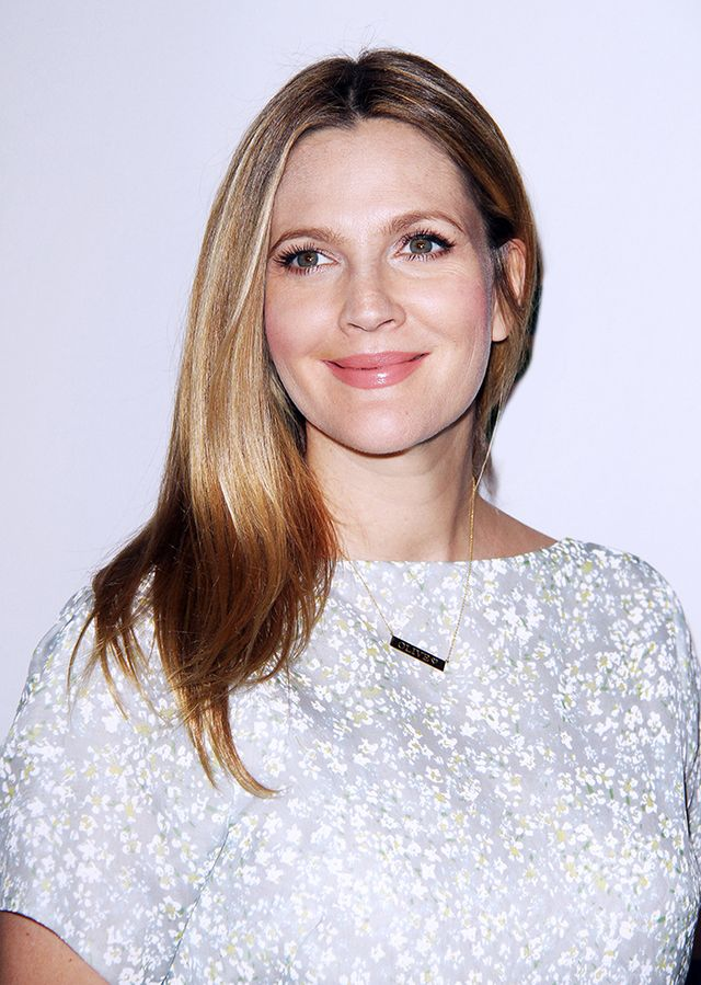 Drew Barrymore   We love how Barrymore got creative and engraved her rescue dog's name on her Jennifer Meyer Personalized Nameplate ($1285).