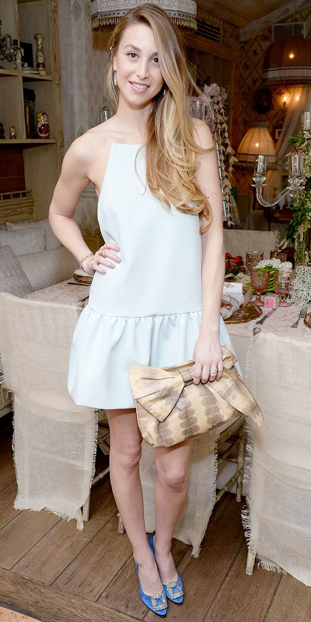Whitney Port's Sweetly Feminine Day-To-Night Look