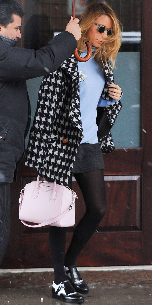 Blake Lively's On-Point Cold Weather Look