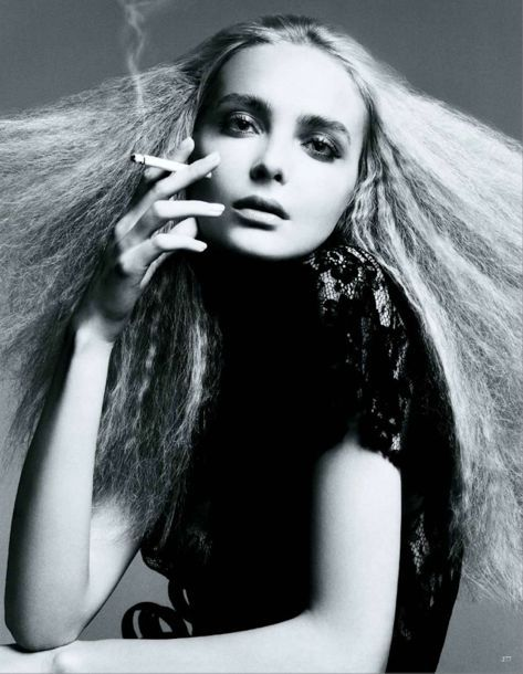 Hairy Tales In Vogue Germany