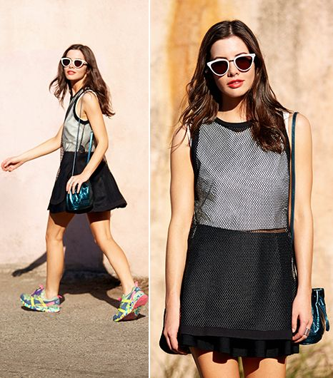 Get Bright! 5 Stylish Ways To Wear Sneakers