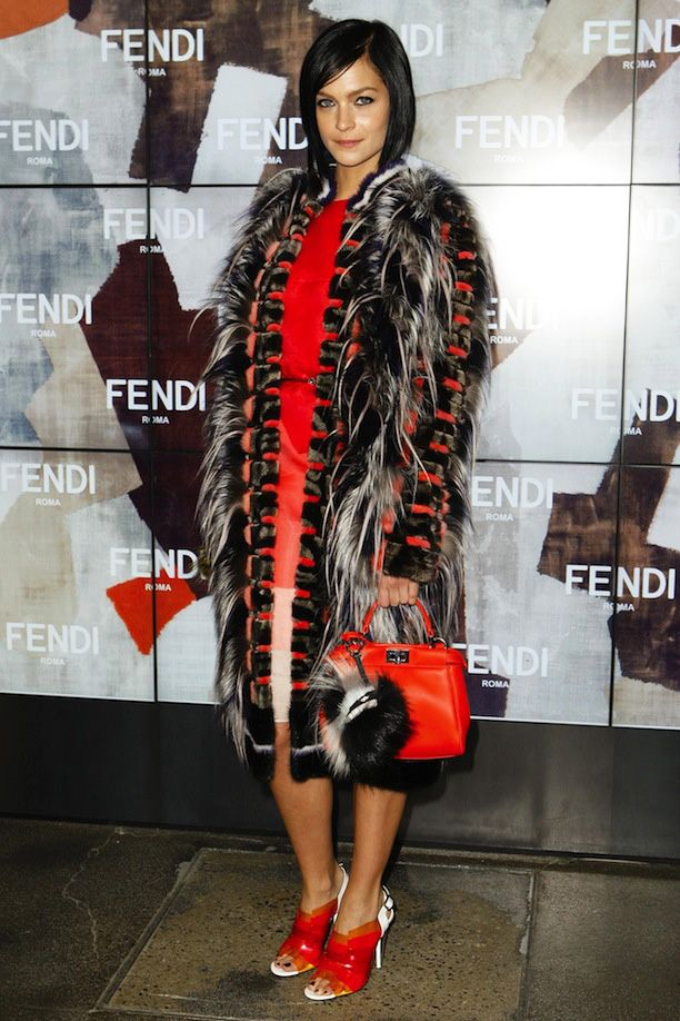 Front Row At Fendi F/W 2014