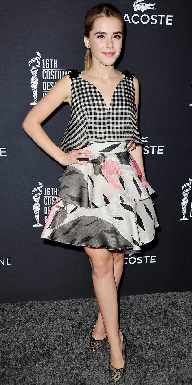 Kiernan Shipka Proves She's A Fashion Pro In Delpozo