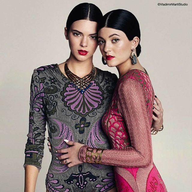 Kendall and Kylie Jenner For Marie Claire Mexico