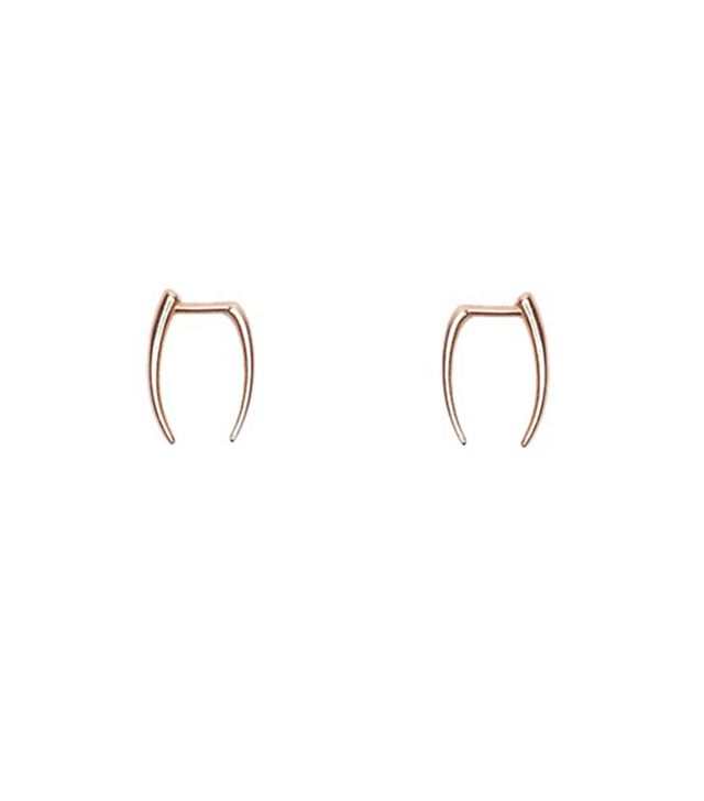 Gabriela Artigas has a store dangerously close to our office, and these asymmetrical tusk earrings are a hit with our editors.