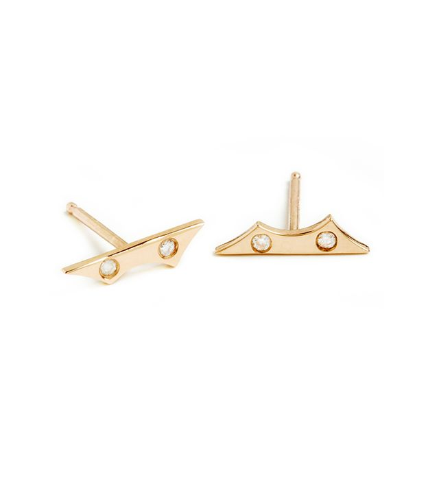 This jewelry designer makes the coolest studs we've seen in a while—not to mention he's based in our hometown!