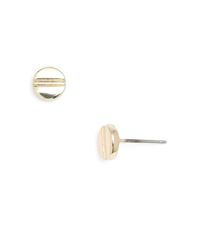 For a slightly tougher look, consider these screw studs.
