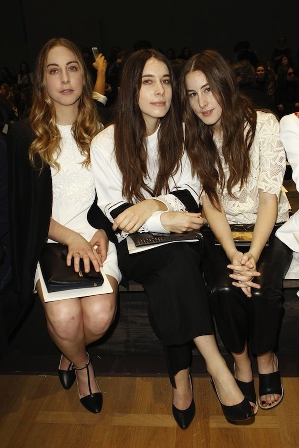 Front Row At Chloé F/W 2014