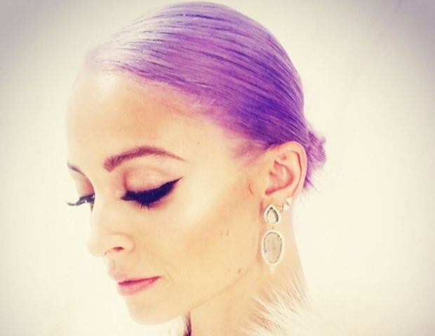 Nicole Richie Dyed Her Hair Purple--For Real This Time