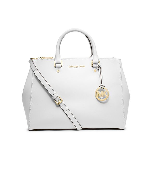 Stay organized with this sophisticated tote. 