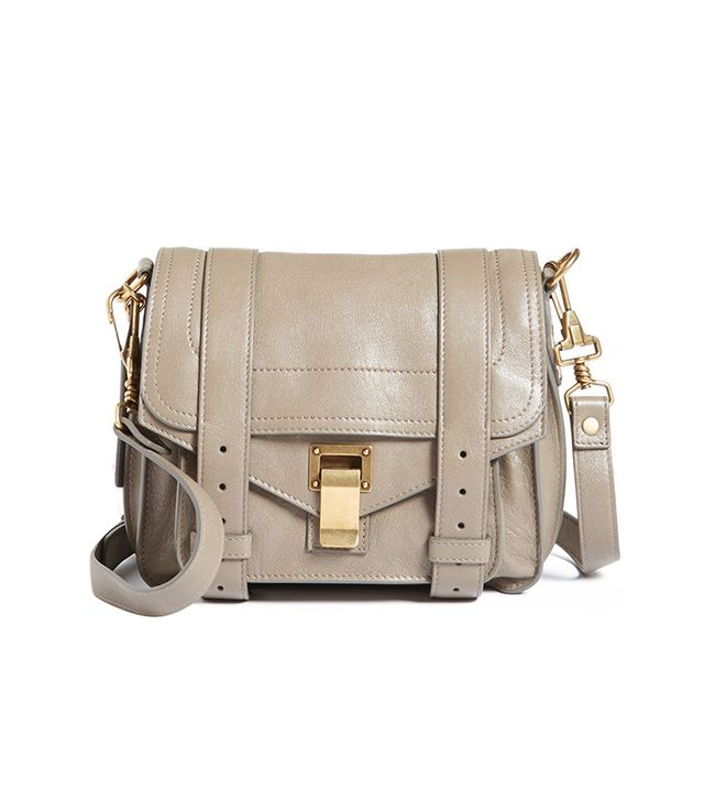 Invest in a neutral cross-body bag you can wear with everything! 