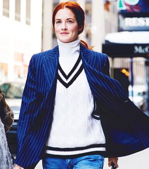 Modern Ways To Wear The Vertical Stripe (You Already Own)