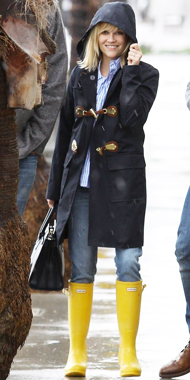 Reese Witherspoon's Rainy Day Style