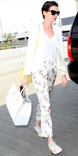 Is Anne Hathaway Carrying The Next It Bag?