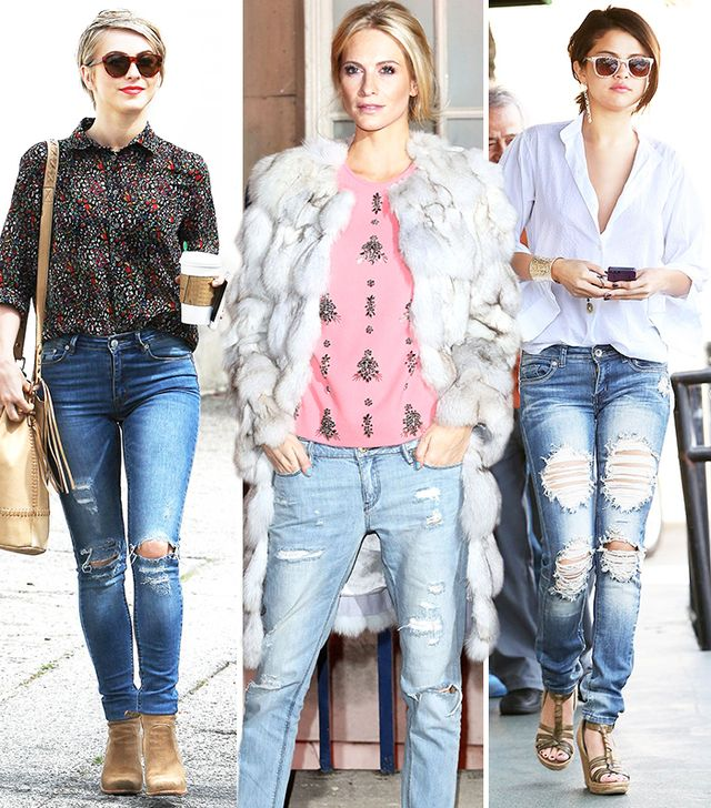 15 Tricks To Looking Pulled Together In Ripped Jeans | WhoWhatWear UK