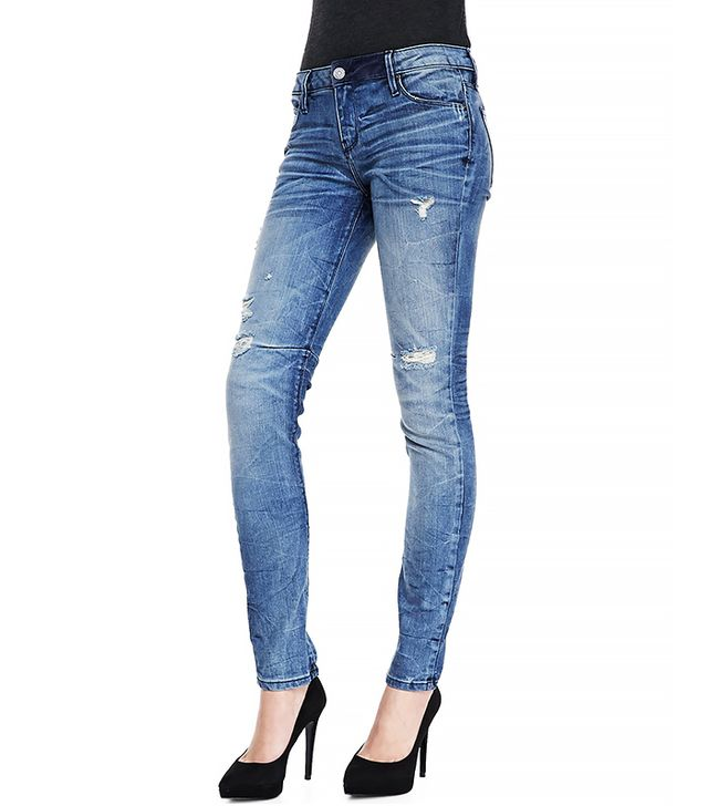 RtA Denim 70s Distressed Crinkled Slim Jeans ($225)