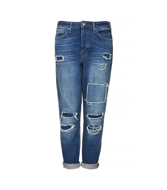 Topshop Moto Hayden Rip and Repair Jeans ($84)