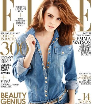 Love It or Leave It: Emma Watson's Double Denim Look