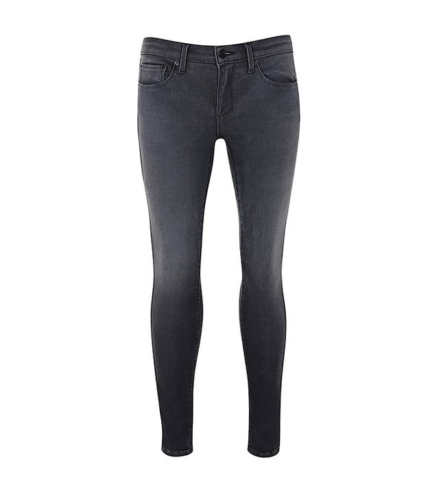 The Body: Flat Bottom  The Jeans: GENETICShya Skinny Jeans ($235) in Vanish  The Slimming Trick: The slimming design and super soft fabric were created to feel like a second skin. The...