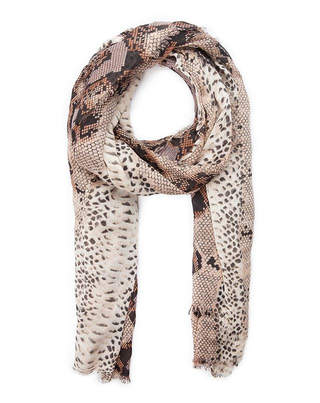 Mango Snake Print Scarf ($25)