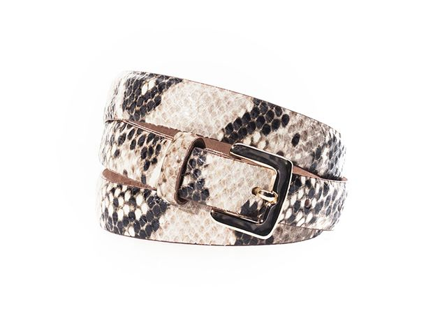 Massimo Dutto Snakeskin Belt ($46)