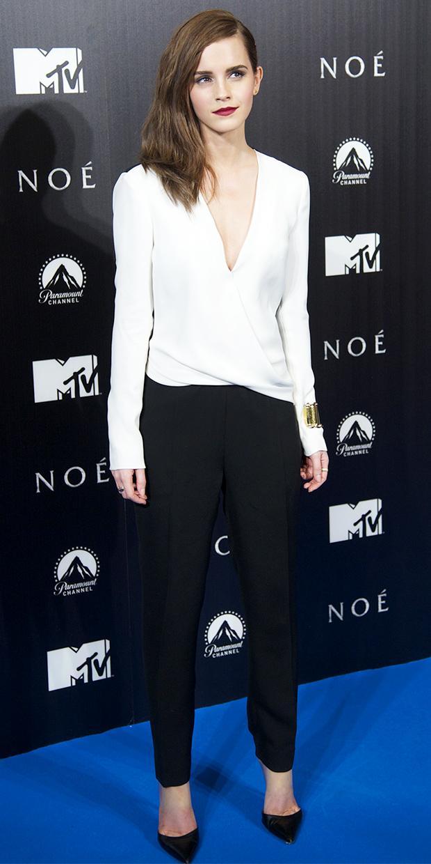 Emma Watson's Ultra-Flattering Jumpsuit