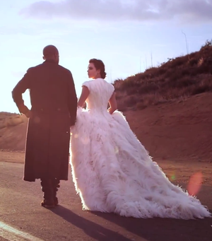 Inside Kim Kardashian & Kanye West's Vogue Shoot