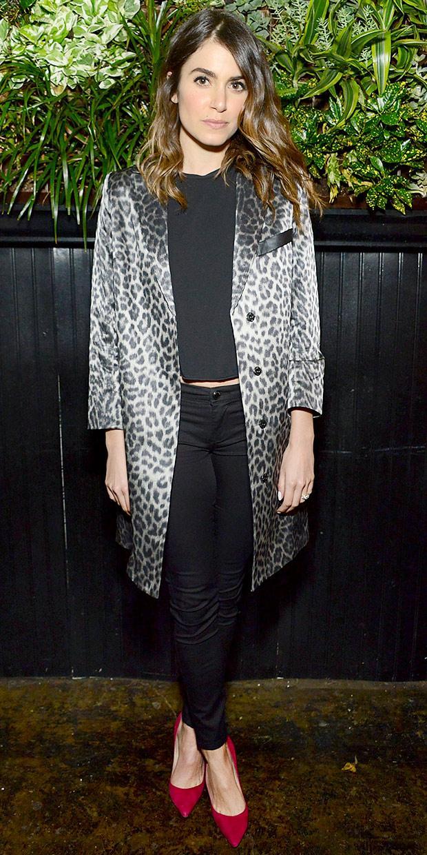 Nikki Reed's Obsession-Worthy Leopard Jacket