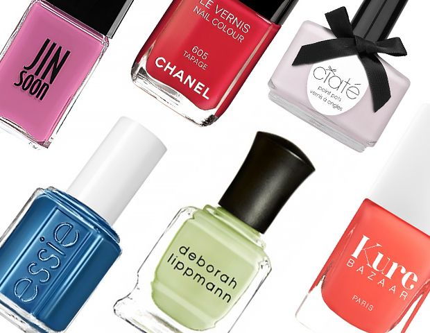 Spring's Best New Nail Polish Colors