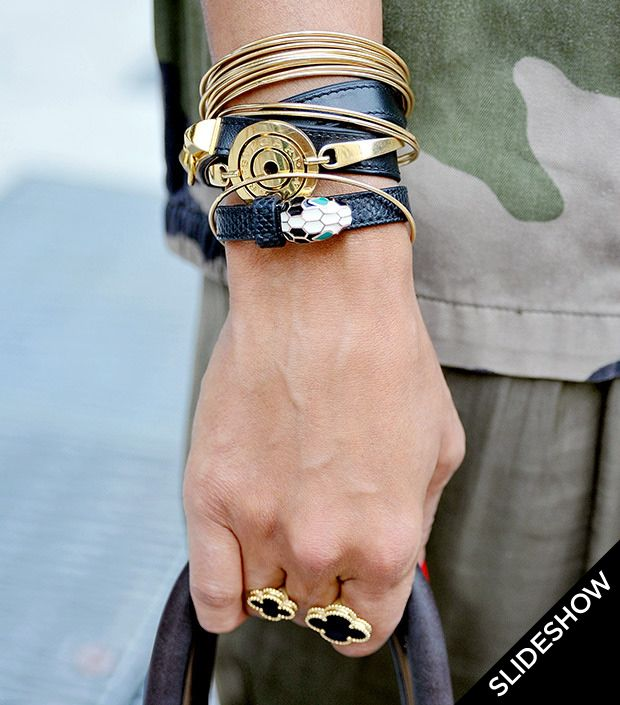 Update Your Style With Snake-Inspired Jewelry.