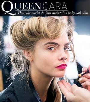 Cara Delevingne's Skin Secrets