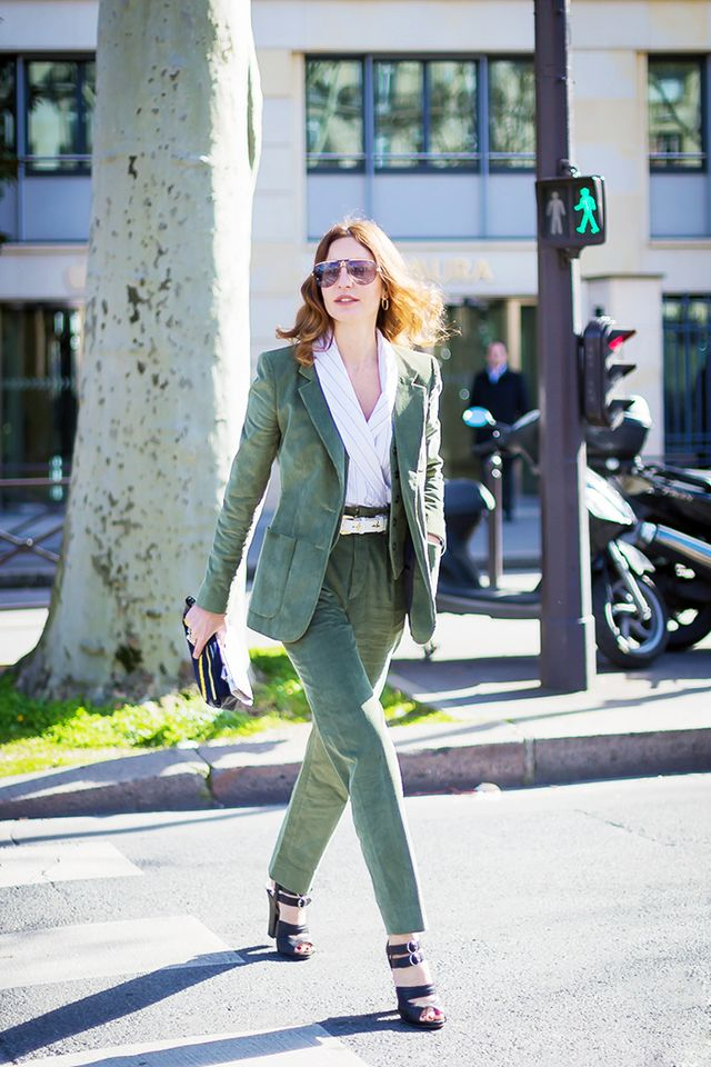 5 Ways To Make A Pantsuit Look Feminine