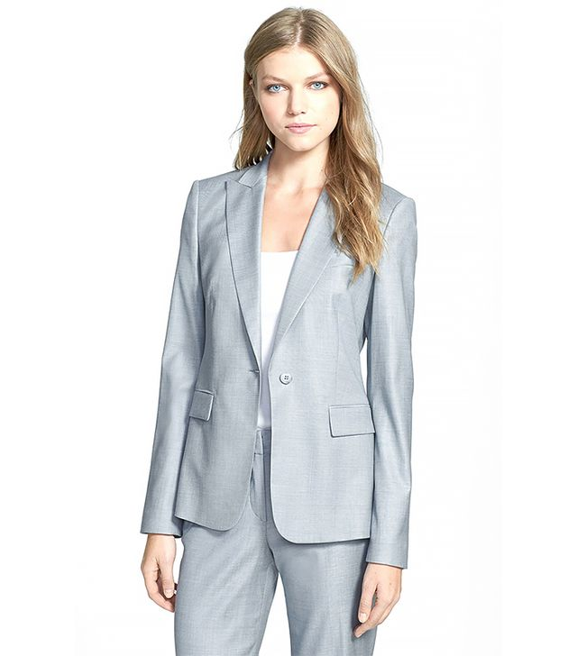 BOSS Hugo Boss Juicy 6 Jacket ($595) in Grey Pearl 
