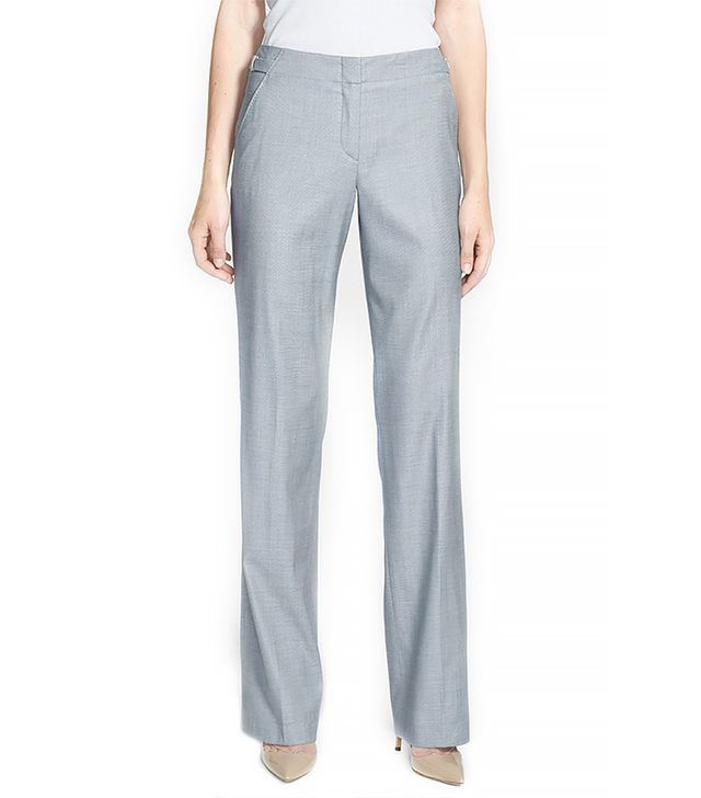 BOSS Hugo Boss Tillina Pants ($295) in Grey Pearl