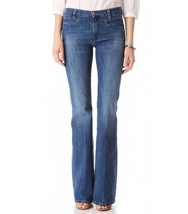 Marrakesh High Rise Flare Jeans