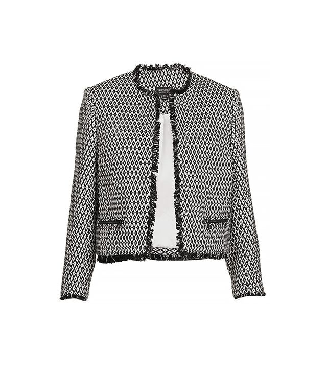 Jackets are a pear-shaped girl's best friend. Interesting details or prints direct focus to the top half of your body and give a bit of structure to the shoulder area, making your...