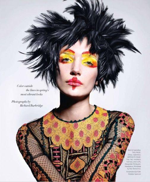 Harper's Bazaar Takes a Flight of Fantasy with Richard Burbridge