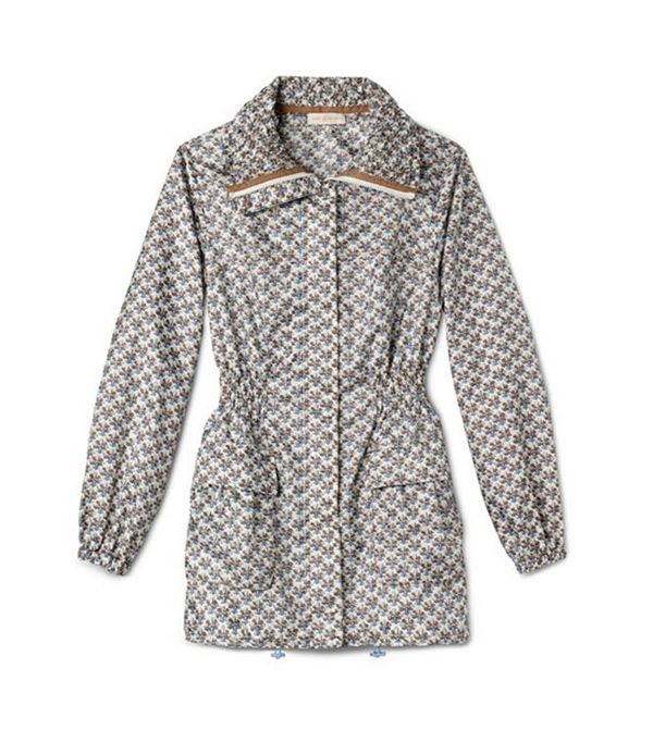 Tory Burch Casey Jacket ($425)  An elastic waistline gives this feminine riff on an anorak an incredibly flattering fit.