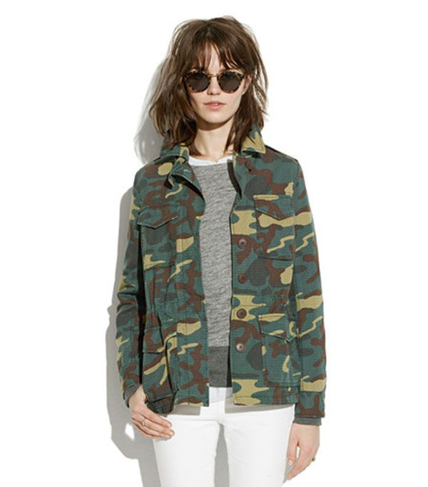 Madewell Outbound Jacket ($98)  Despite the undercover print, this jacket is anything but subtle.