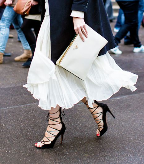 #TuesdayShoesday: Shop Our Favorite Lace-Up Heels