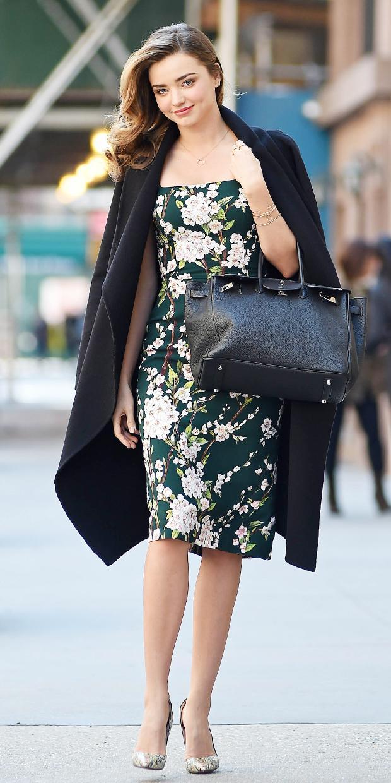 Miranda Kerr's Romantic Spring Look