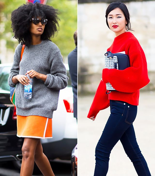 12 Ways To Style A Simple Sweater For Spring