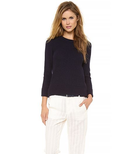 Rag & Bone Rita Sweater ($255) in Navy